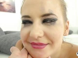 Rough Ass Fucking And Deepthroating For European Teen Newbie Swabery Baby