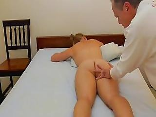 Summer Gets A Massage