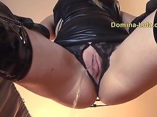 Online Dominatrix Takes A Pee On You