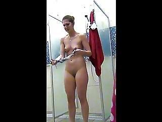 Peeping In The Women S Shower Sports Club