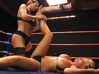 Goldie Dominated In Wrestling Match
