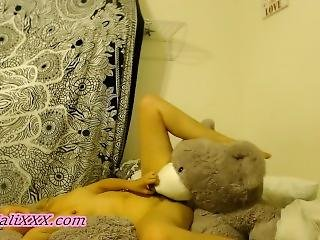 Aali Fucks Her Teddy Bear