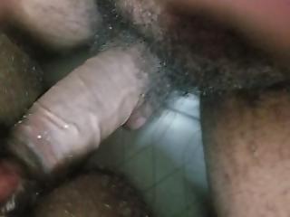 Big Pussy Takes 9 Black Cock