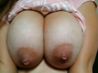 Huge 19yo Mexican Titties Bouncing