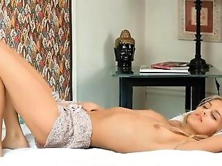 Pretty Gal Plays With Long Marital-device