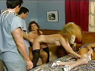 Sorority Stewardesses Nina Hartley Scene