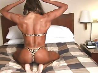 Sexy Woman Bodybuilder