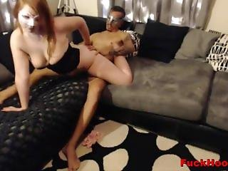 Horny Amateur Pair Fucking On The Couch Homemade Tape