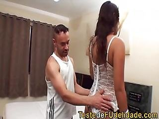 brasiliansk, brunette