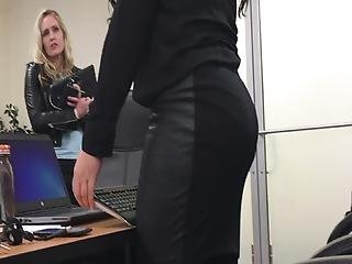 Candid Thick Coworker Perfect Pawg Ass