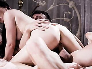 Alison Moans As Chad Pounded Her Rough And Hard