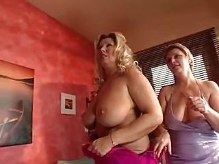 Busty sex orgie