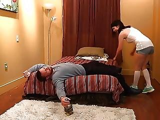 Blowjob, Dad, Naughty, Young