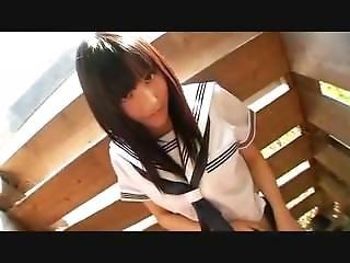 School Girl In Sailor Suit