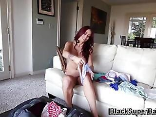 Busty Whore Takes Big Rod