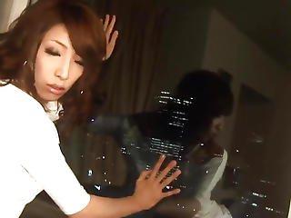 Aya Sakuraba Desires To Gulp After Such Intensive Oral Stimulation
