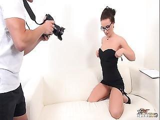 Fakeshooting - Photographer Keep His Boss Suck Big Cock Till Cum