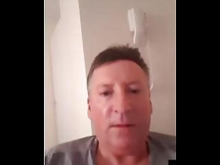 Mark Mcaulay Masturbates To The Cam +44 7582 430