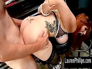 Lauren Phillips Big Tit Pole Dancer Pounded