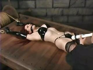 Emily Marilyn Tied Down And Vibed