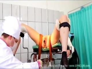 Medical Fetish Gyno Exam