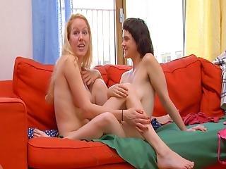 dospívající lesbičky mladí