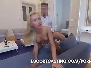 Real Escort Video - I Meet With A Blonde In Paris And Take Her To My Flat