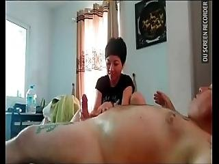 Wmaf Tiny Asian Gives An Oil Massage With A Very Happy Ending