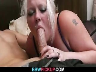 Cock Hungry Bbw Seduces Stranger And Rides His Cock