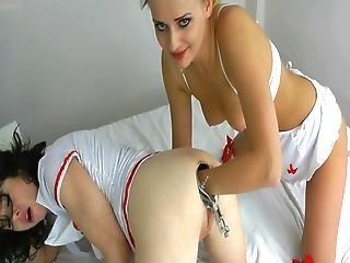 Naughty Kinky Nurses Doing Rectal Examination