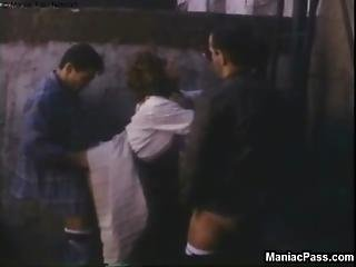 Spontaneous Outdoor Orgy