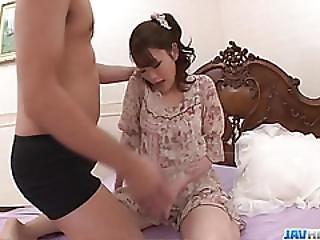 Hot Mom,tomoka Sakurai, Rides Cock In Hardcore