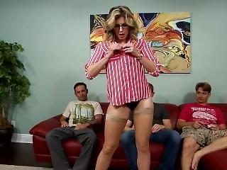Blondine, Blasen, Jungs, Pornostar, Dreier