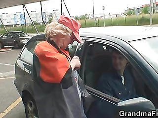 Gas Station Grandma Fucked In The Country