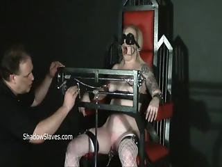Angel, Blonde, Domination, Dungeon, Extreme, Fetish, Leather, Pain, Punish, Torture