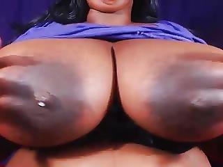 Bbw Shows Big Tits And Hard Nipples 2