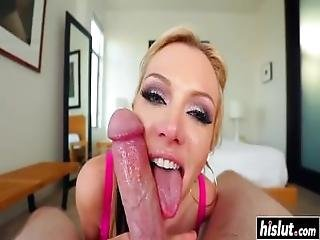 Blonde Slut Gets Face Fucked Hard