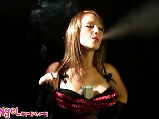 Smoking A Vs120 And Dancing
