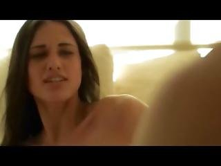 Extremelly Hot Babe Fucked On The Couch