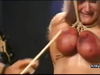 Lifted Up Through Her Tits
