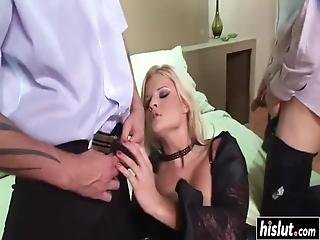 Louise Black Wants To Fuck With More Guys Until She Reaches An Orgasm