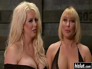 Alura Jenson And Another Girl Finally Get To Play With Toys Together