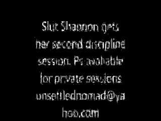 Slut Shannon Gets Spanked