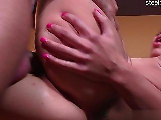 Busty daughter punish anal