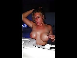 Hot Tub Jet Orgasms