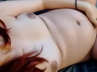 Pregnant Teen Masturbating