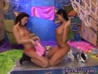Brutal dildo machine Hairy Kim and shaven