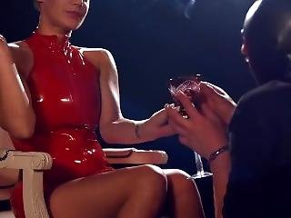 Loulou Chain Smoking While Dominating Her Male Slave