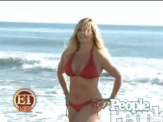 Nicole Eggert - Bikini Shoot On Et