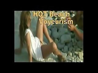 Thesandfly Hot Beach Voyeurism